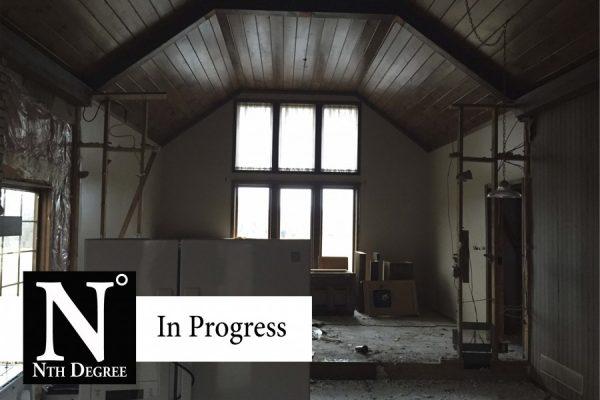 Nth Degree Renovation Courter Rd. In Progress