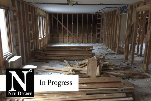 Nth Degree Renovation Courter Rd. In Progress