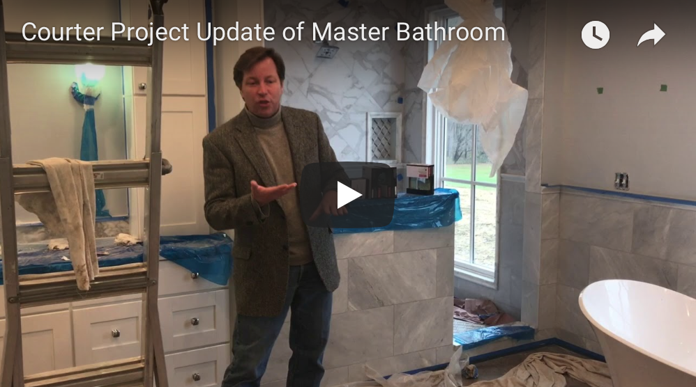 Courter Project Master bathroom update