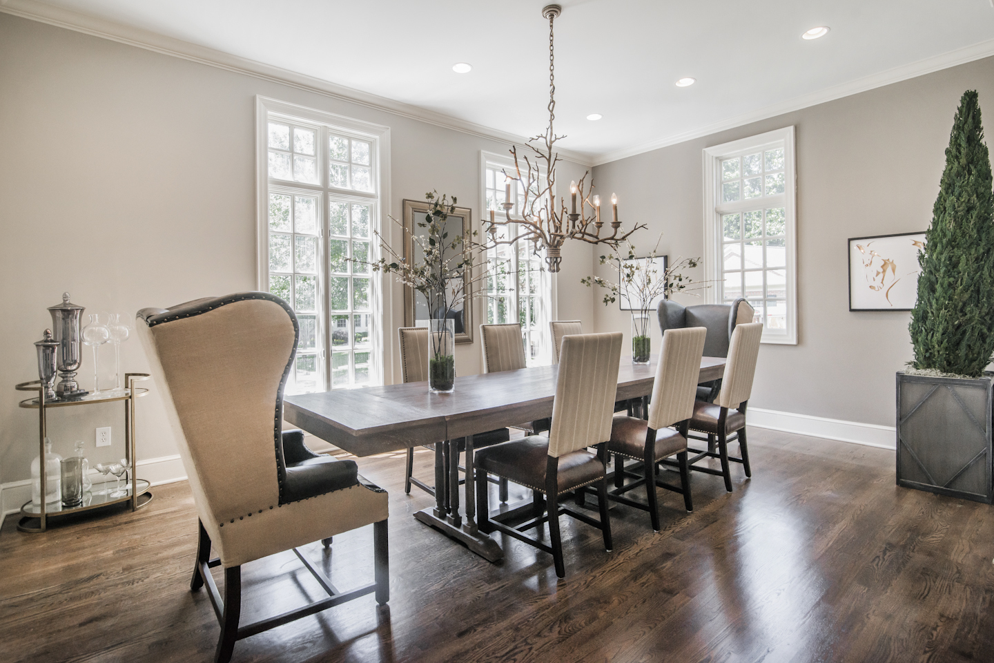 riverway interior redesign dining room