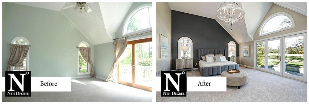 Strasbourg Before and After Master Bedroom
